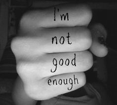 When My Best Is Not GoodEnough